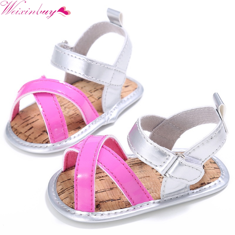 New baby girls sandals beautiful simple Shoes Boys Girls Kids Sandy Beach Shoes Kids Sandals Soft Flat