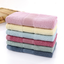 6 шт./партия квадратное однотонное полотенце из бамбукового волокна мягкая ткань для мытья лица 33x33 см