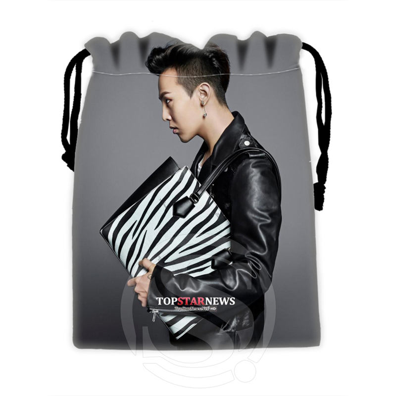 H-P668 Custom Bigbang#5 Drawstring Bags For Mobile Phone Tablet PC Packaging Gift Bags18X22cm SQ00806#H0668