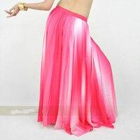 ballroom dancing cheap indian dresses purple red blue gradient color long skirt