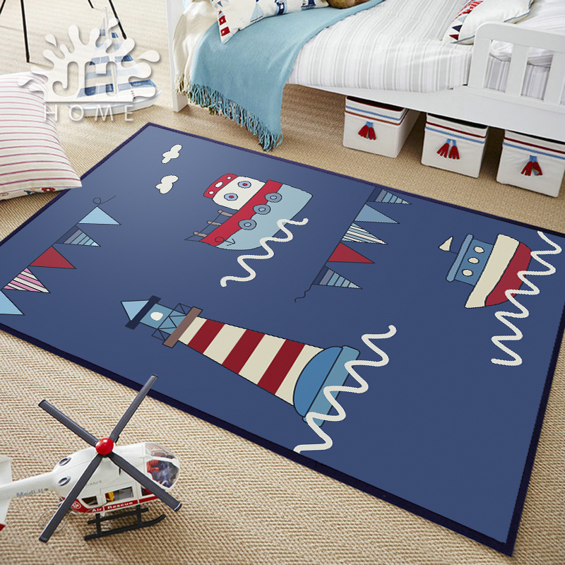Infant Shining Baby Play Mat Puzzle Children's Bedroom Carpet Bedside Table Climbing Pad Tatami Cartoon Rugs 140X200CM 55X78IN infant shining rectangle baby play mats four seasons cotton carpet cartoon children bedroom blanket living room rugs