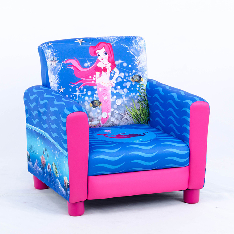 Fine Environmental Leather Couch Children Seat Chair