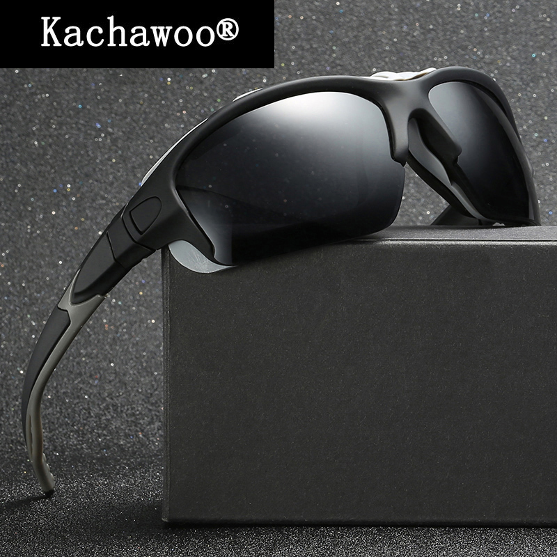 Male Polarized sunglasses for fishing Glasses Men Sports Hiking Driving Cycling Bicycle Eyeglasses Uv400 Goggles Summer
