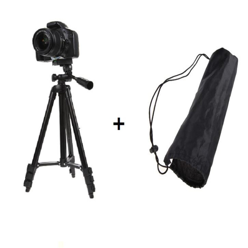 Professional Aluminum 360 Flexible DSLR Camera Camcorder Tripod Stand For Canon/Nikon/Sony Camera Stabilizer Tripod Accessories protable lightweight aluminum camera tripod with rocker arm carry bag for canon nikon sony dslr camera camcorder