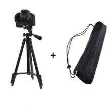 Profissional de alumínio flexível 360 dslr camera filmadora tripé para canon/nikon/sony câmera estabilizador tripé acessórios