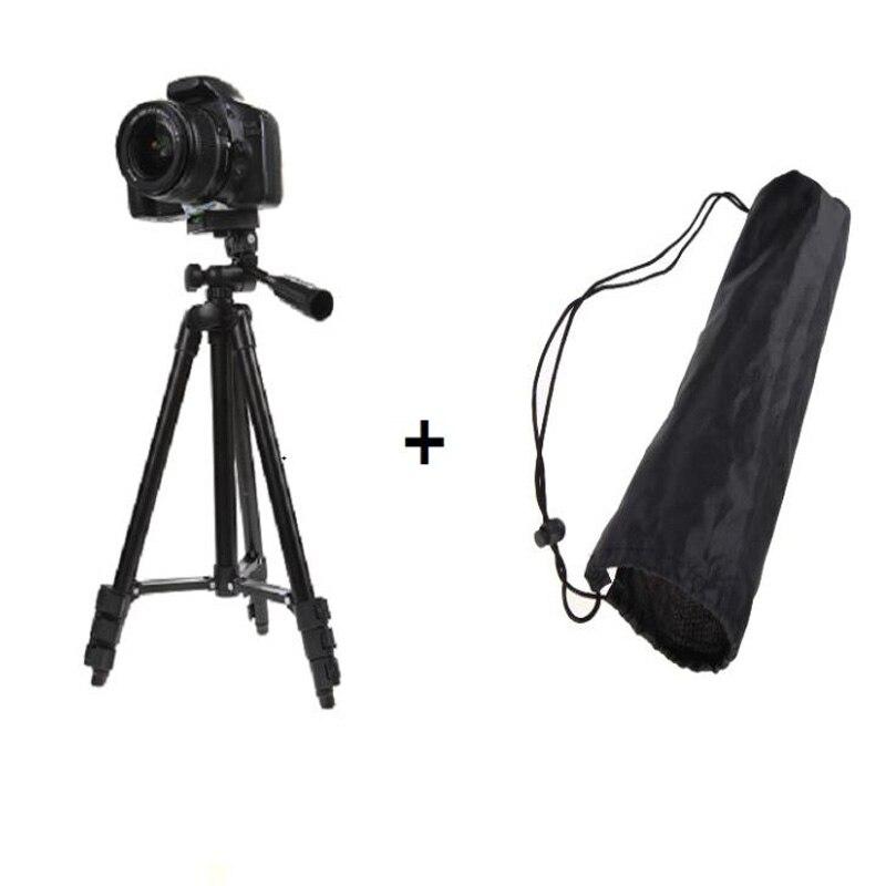 Professional Aluminum 360 Flexible DSLR Camera Camcorder Tripod Stand For Canon/Nikon/Sony Camera Stabilizer Tripod Accessories