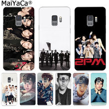 MaiYaCa 2PM Kpop Boy band Funny Abstract Art Fashion Phone Cover for Samsung S9 S9 plus S5 S6 S6edge S6plus S7 S7edge S8 S8plus(China)