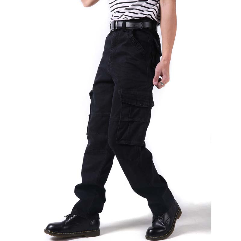Erkek Kıyafeti'ten Kargo Pantolonlar'de Moda Büyük boy 46 Erkek Pantolon Hiphop Mevsim Eğlence Gevşek erkek Hip Hop Kargo Pantolon Yeni Baggy Uzun Pantolon erkek Dipleri'da  Grup 1
