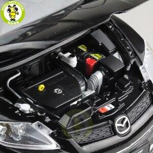 Image 4 - 1/18 CX 7 CX 7 MAZ DA Diecast מתכת רכב SUV דגם צעצוע ילד ילדה מתנת אוסף שחור