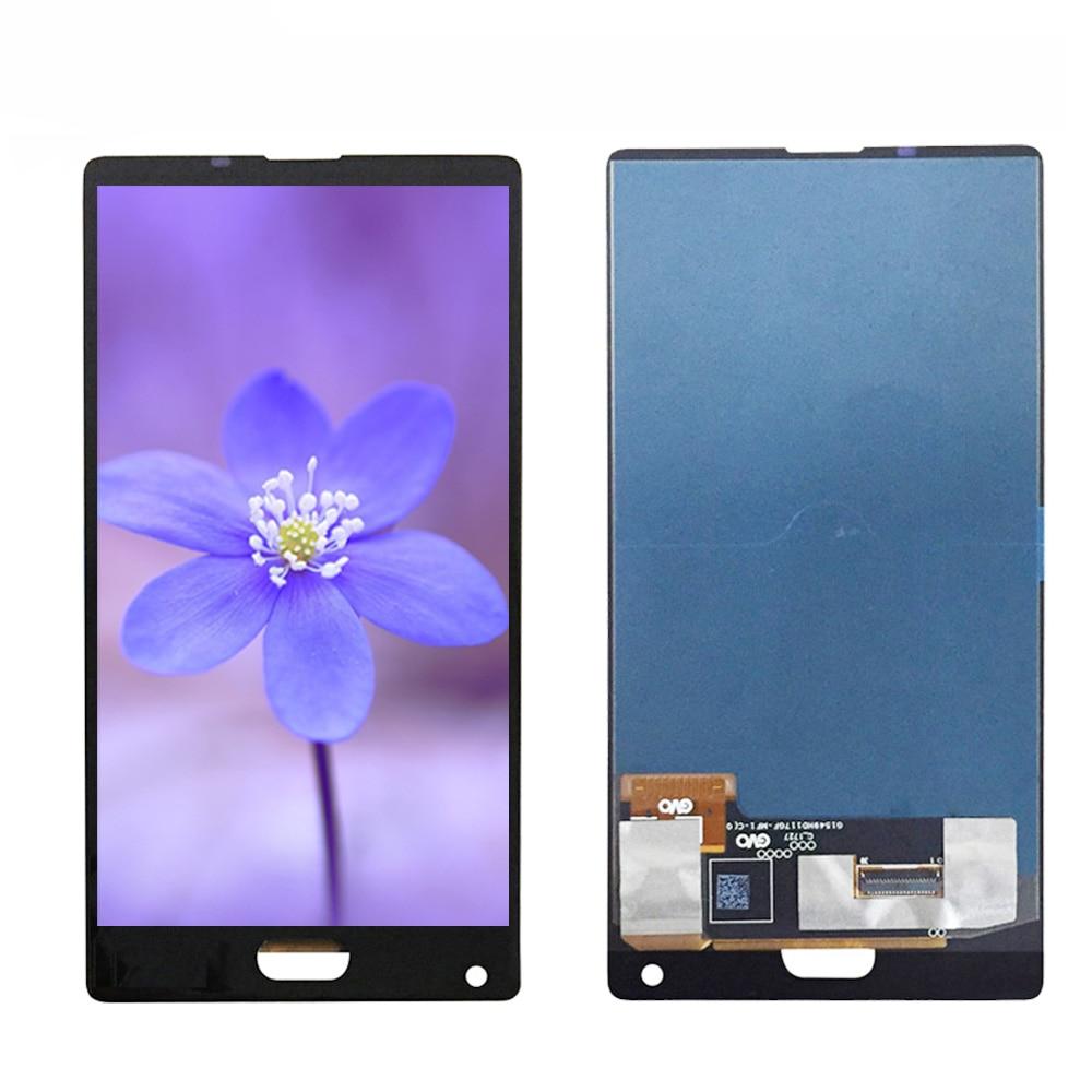 Negro/azul para 5,5 pulgadas Doogee mezcla pantalla LCD + ASAMBLEA DE PANTALLA TÁCTIL digitalizador piezas de repuesto