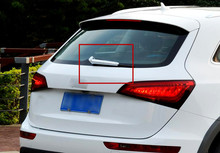 For Audi Q5 2008 2015 ABS Chrome Rear Window Wiper Noozle Covers 2pcs Glossy New Arrival