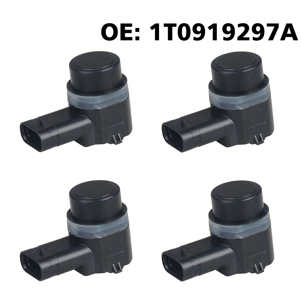 4 teile/los PDC Parkplatz Sensor Parktronic 1T0919297A für VW Golf Eos Passat cc Sharan Touran für Seat Alhambra