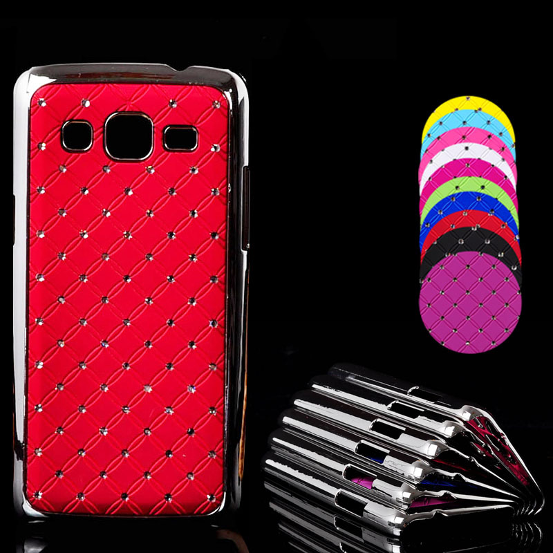 Diamond Starry Chrome hard Case Samsung Galaxy Express 2 G3812 G3815 G3818 Back Skin Protective Phone Cases bags - REDSTORE INT'L TRADING CO LTD store