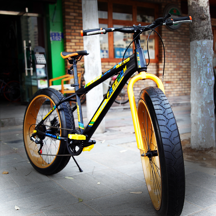 7 Speeds 26 X17 Fat Bike 3 0 4 0 Width Wheel Top Derailleur