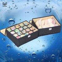 Luluhut 2 قطعة/المجموعة رشاقته الملونة العلاقات الجوارب الداخلية الحاويات درج حجرة منظم تخزين مربع تخزين المنزل