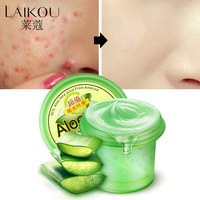 Day Creams Moisturizers Pure Nature Soothing Aloe Vera Gel Wrinkle Removal Anti Acne Anti Sensitive Sunscreen