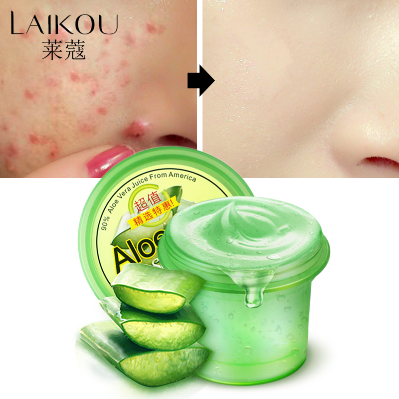 LAIKOU Day Creams & Moisturizers Pure Nature Soothing Aloe Vera Gel Wrinkle Removal Anti Acne Anti-sensitive Sunscreen Cream