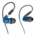 IRock A8 Doble Conductor Cable Auriculares Sport Auriculares con Micrófono Desmontable Monitor de Cristal Auriculares DJ Studio Auriculares Dinámico