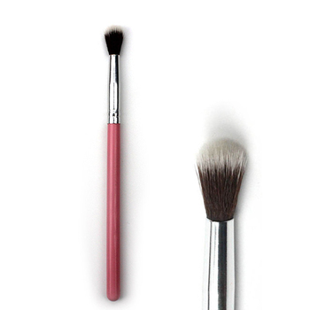1PC Eye Makeup Brush Pink Wood Handle Eye Shadow Hightlighter Nose Shadow Brush Cosmetic Makeup Tools professional eye shadow brush wood handle 230 large flat tapered shader brush eye detail make up brush cosmetic tool