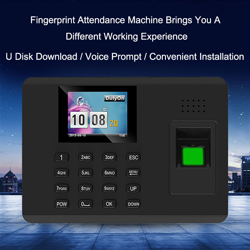 OULET Biometric Fingerprint TCPIP Attendance System Time Clock Recorder Attendance System Fingerprint Employees Device Reader zk k14 biometric fingerprint time attendance system fingerprint time recorder time clock biometric attendance system