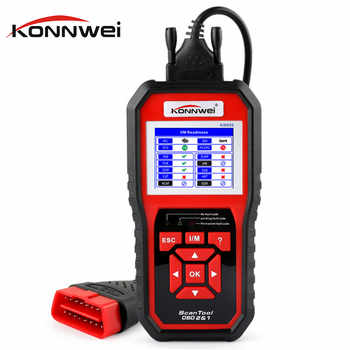 OBD OBD2 Scanner Car Diagnostics Tool for Engine KONNWEI KW850 Universal Code Reader Multi-language OBDII Automotive Scanner - DISCOUNT ITEM  19 OFF Automobiles & Motorcycles