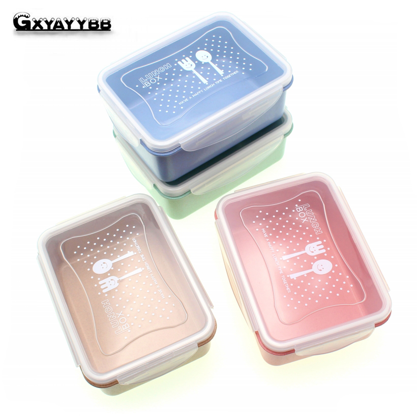 1-Layer Portable Cute Mini Japanese Bento Lunch Boxs Bag Set Thermal Lunch Boxs For Kids Picnic Food Container For Food Storage
