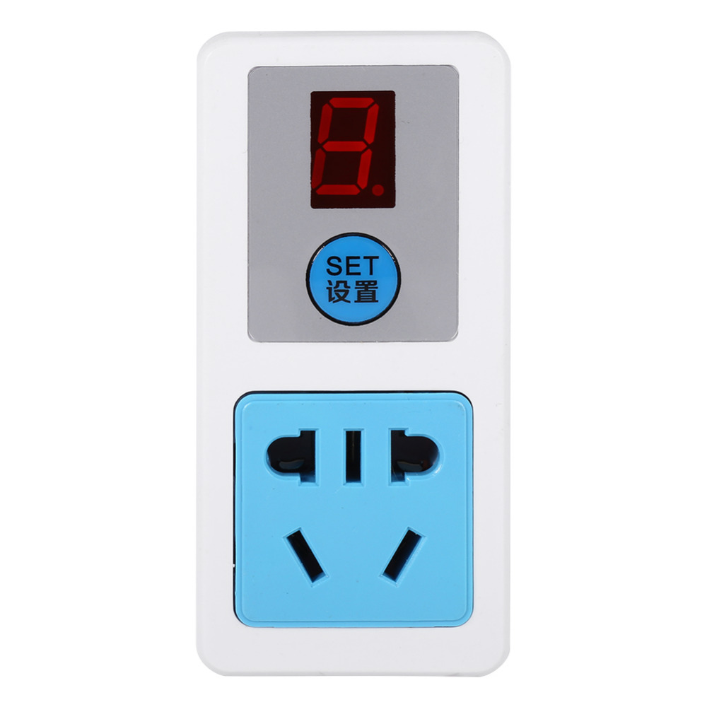 New prise murale 9/24 Hours Electrical AC 220V Energy-saving Timer Socket Home Appliances Digital Timing-Switch AU  Plug Adapter