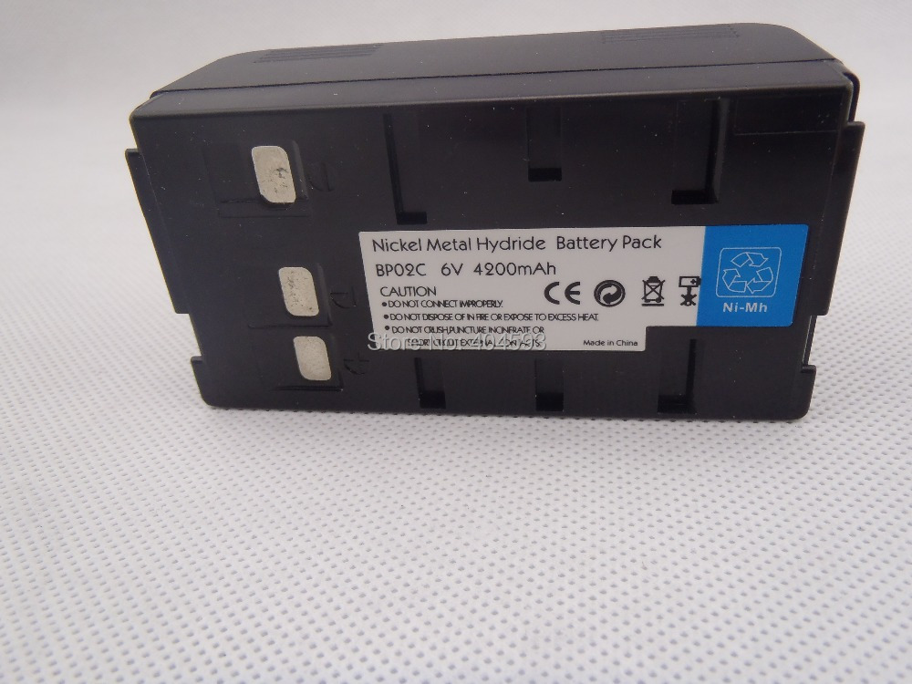 NUEVA batería Ni-MH BP02C para estaciones totales Pentax 6V - Instrumentos de medición - foto 3
