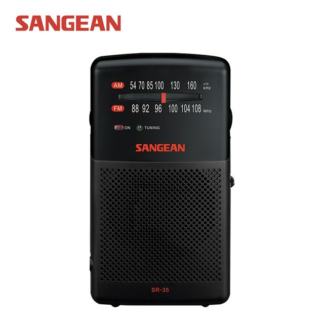 Sangean SR-35 AM/FM Radio de Bolsillo Analógico