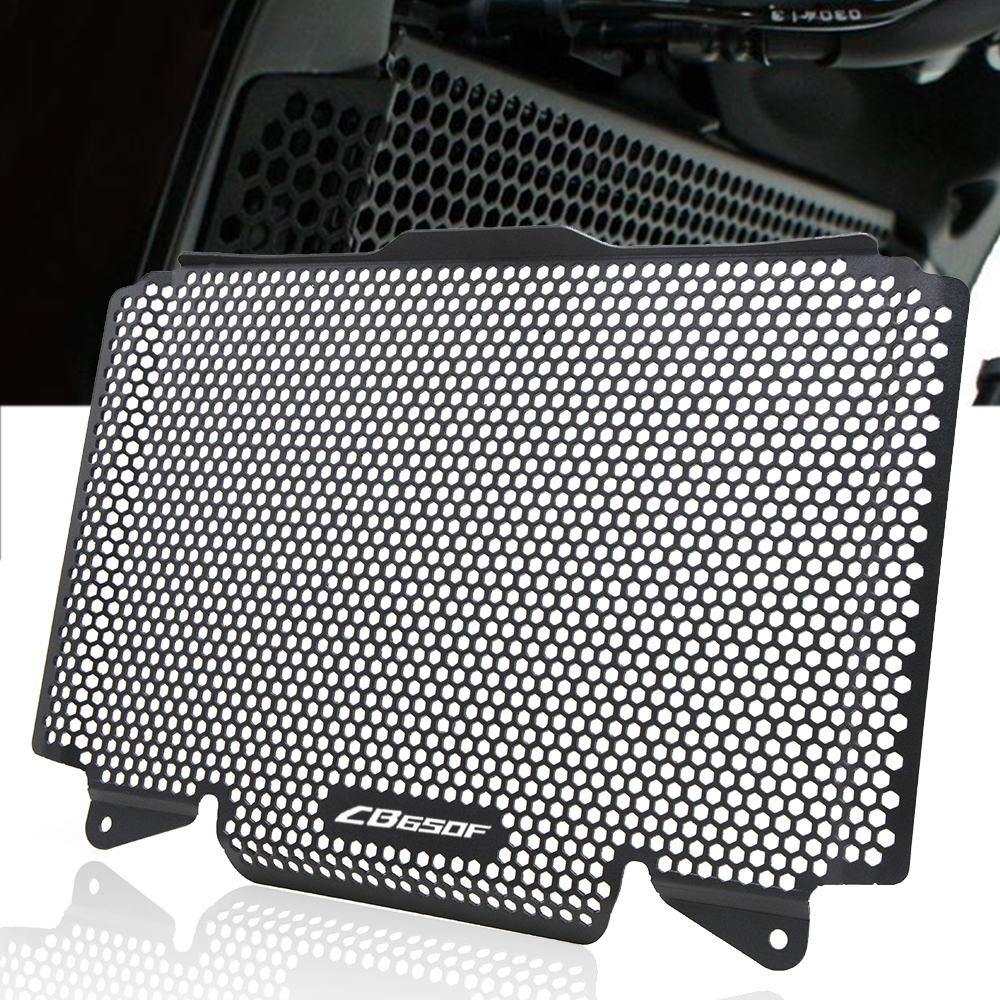 For Honda CB650F CB 650 2014-2016 2015 Motorcycle Accessories CNC Radiator Guard Protector Grille Grill Cover Protection MotorFor Honda CB650F CB 650 2014-2016 2015 Motorcycle Accessories CNC Radiator Guard Protector Grille Grill Cover Protection Motor