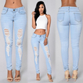 2016 fashion new hot women jeans Sexy girl Hole jeans bermuda jeans feminina jeans boyfriend for women