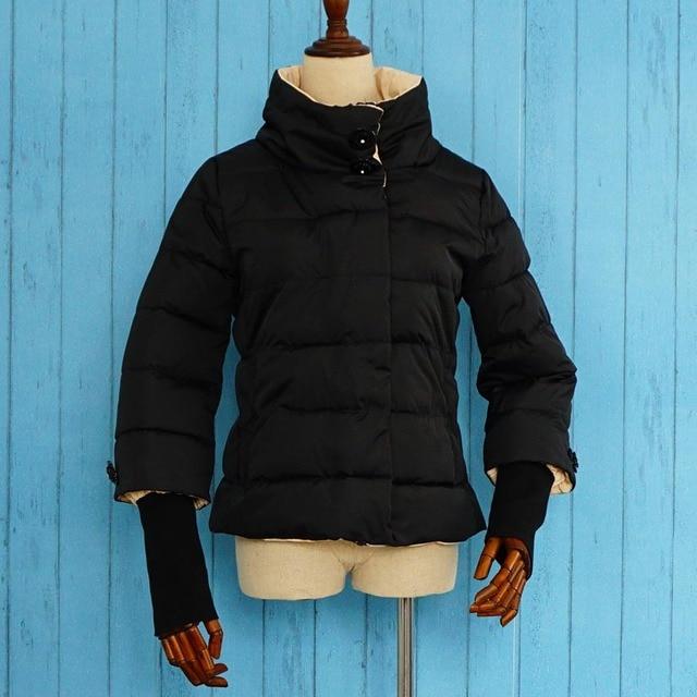 winter jacket women splice sleeves regular length 2016 spring thin women jacket mint blue white pink 4 colors