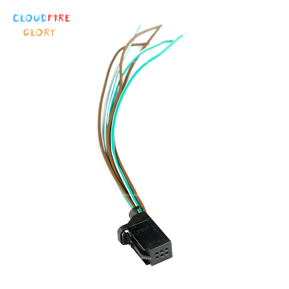 US $4.13 5% OFF|4D0971636A 6 Pin Plug Connector Pigtail Wiring For on pigtail fuses, pigtail socket, pigtail harness,