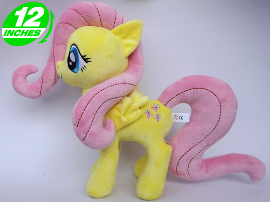 Ty Beanie Boos Big Eyes Soft Stuffed Animal Unicorn Horse  Plush Toys Doll Fluttershy