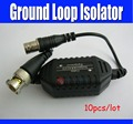 10pcs Ground Loop Isolator For CCTV Camera Coaxial Cable BNC Balun Connectors