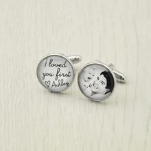 Father of the Bride Gift,Mens Cufflinks,Personalized Wedding