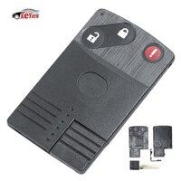 KEYECU Marke Neue Ersatz Shell Smart Card Fernbedienung Schlüssel Fall Fob für MAZDA 5 6 CX-7 CX-9 RX8 Miata 2 + 1 tasten