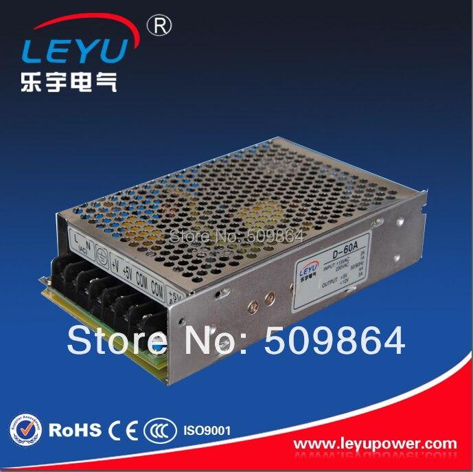 D-60 60W dual output switching power supply 5V 12V / 5V 24V