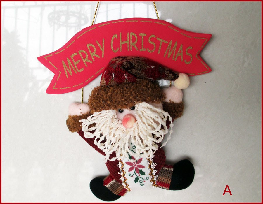 QY36173ABC-4-Set-of-3-Christmas-Decoration-Door-Decor-Hanger-MERRY-CHRISTMAS-Xmas-Tree-Ornament-Home-Decoration-Holiday-Gifts-Santa-Claus-Snowman-Reindeer-11-inch-Length