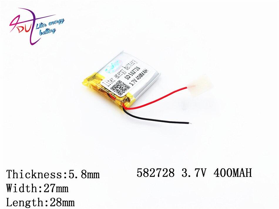 582728 602530 583030 Liter Energie 3,7 V Lithium-polymer-batterie 400 Mah Mp3/4 Bluetooth Radio Batterie Überwachung Digital Batterien