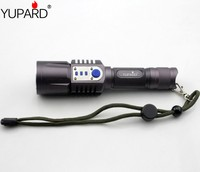 XM L2 T6 LED High Power Flashlight Torch Mobile Power Bank USB Charge 18650 Battery Intelligent