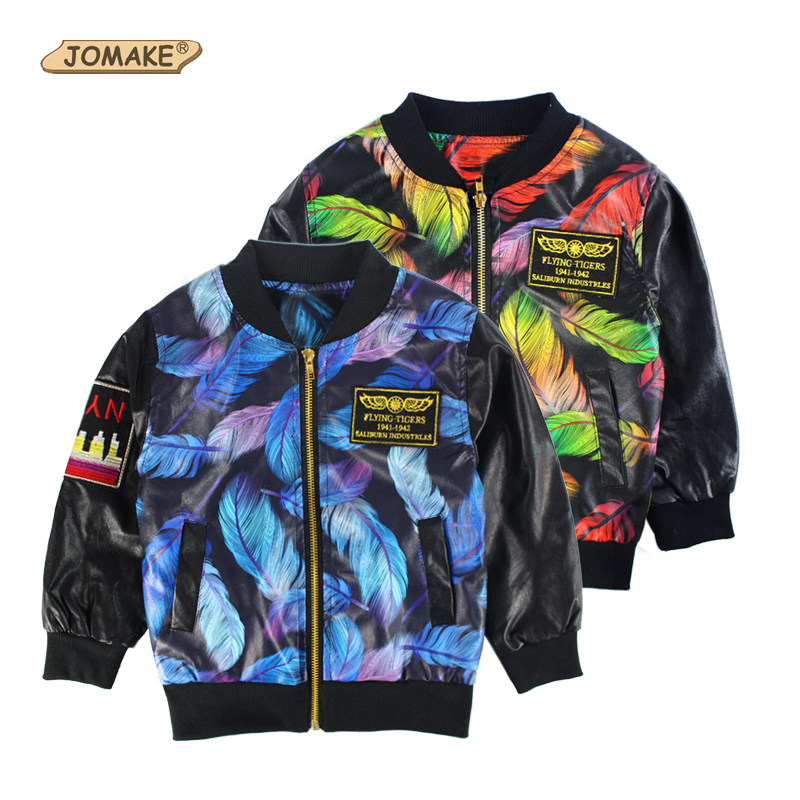 Aliexpress.com  Buy Fall Boys PU Jackets New Fashion Kids Clothes Children Clothing Baby ...