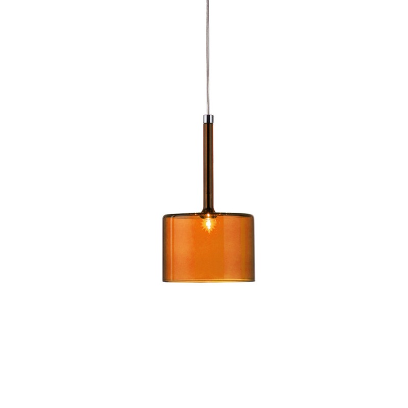 orange pendant lighting. axolight spillray g led pendant lights orange transparent glass lamp for bar lighting fixtures suspension