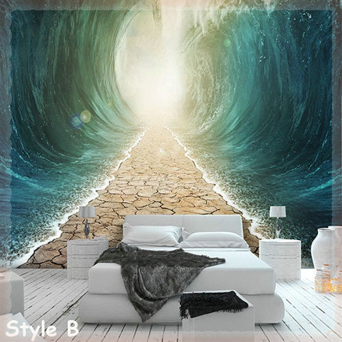 Large Photo Murals Tv Background Paper Wall Decor Abstract Mural Wallpaper Wallcoverings Wedding Decoration Leather Textured In Wallpapers From Home