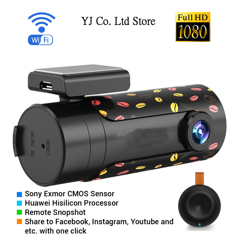 цены  new mini wifi car dvr rotatable lens car camera hd night vision dash cam recorder bluetooth wireless snapshot auto camcorder
