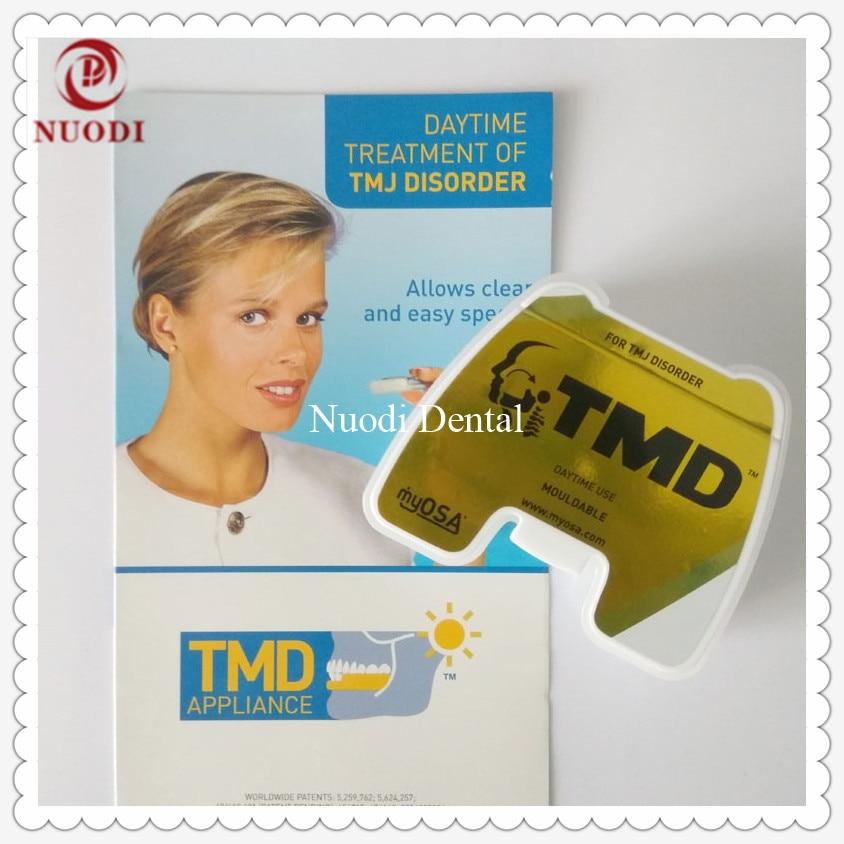 TMD Orthodontic Braces/TMD Appliance daytime treatment for TMJ disorder/TMD Dental trainer appliance/TMD teeth trainer alignment 97 3100 22 34s 438 circular mil spec recept mr li