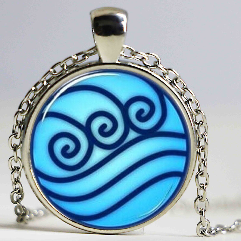 2016 charms necklaces Avatar the Last Airbender necklace, Legend of Korra Water Tribe choker Jewelry charm necklace legend of korrathe last airbender - AliExpress