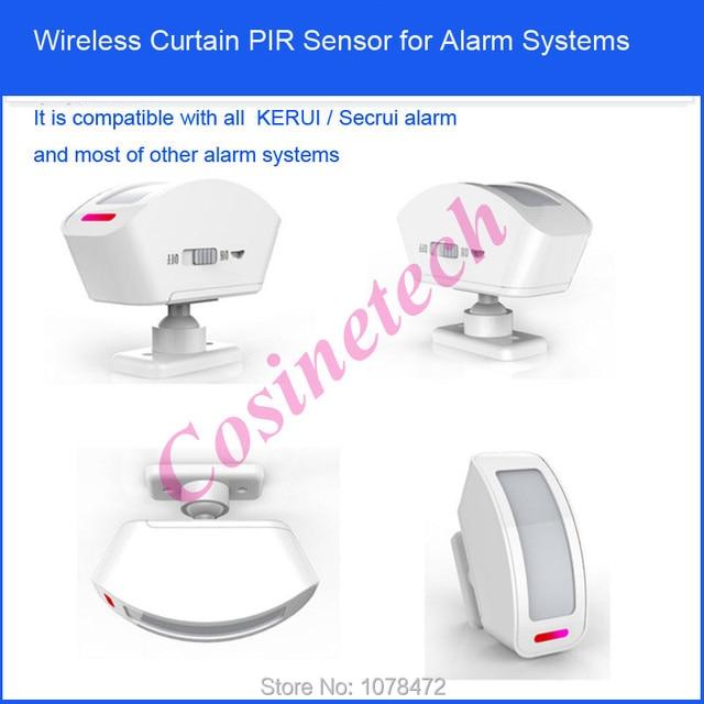 Aliexpress.com : Buy wireless KERUI curtain PIR sensor,433mhz 1527 ...