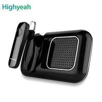 Bluetooth Car Kit Smart Car Bluetooth Handsfree Speaker Earphone For IOS Android Phone Sun Visor Portable Car Audio Automatic