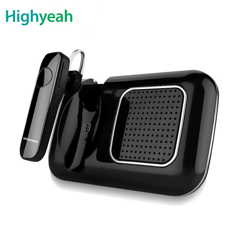 Bluetooth Car Kit Smart Car Bluetooth Handsfree Speaker Earphone For IOS Android Phone Sun Visor Portable Car Audio Automatic